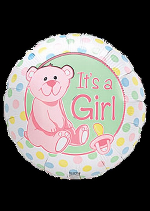 Foil 18 inch Helium - Its a Girl - 01