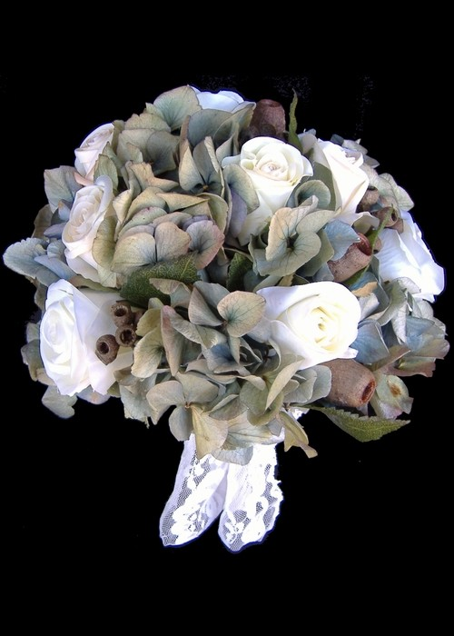 Silk Posy Bridal Bouquet